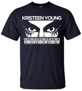 Kristeen Young Monster in the Moon T-Shirt